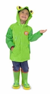 Melissa and Doug Soggy Froggy Raincoat - click to enlarge