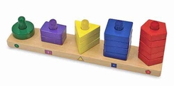 Melissa and Doug Stack and Sort Board - click to enlarge