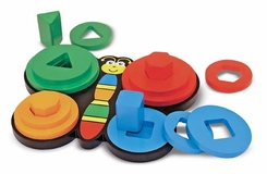 Melissa and Doug Stack and Sort Butterfly - click to enlarge