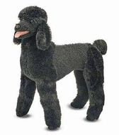 Melissa and Doug Standard Poodle Plush - click to enlarge