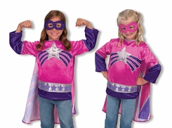 Melissa and Doug Super Heroine Role Play Set - click to enlarge