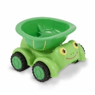 Melissa and Doug Tootle Turtle Dump Truck - click to enlarge
