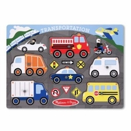 Melissa and Doug Transportation Peg Puzzle - click to enlarge