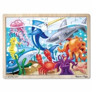 Melissa and Doug Under the Sea Jigsaw (24 pc) - click to enlarge