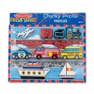 Melissa and Doug Vehicles Chunky Puzzle - click to enlarge
