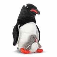 Melissa and Doug Webber Penguin with Baby - click to enlarge