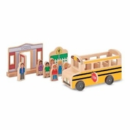 Melissa and Doug Whittle World - School Bus Set - click to enlarge