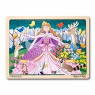 Melissa and Doug Woodland Princess Jigsaw 24pc - click to enlarge