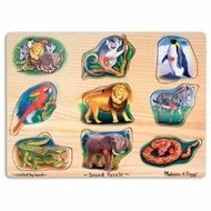 Melissa and Doug Zoo Sound Puzzle - click to enlarge