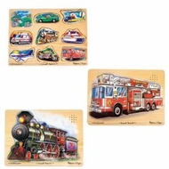 Melissa & Doug - 3 Piece Sound Puzzles - click to enlarge