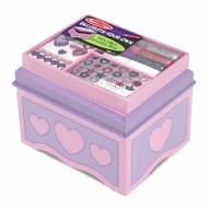 Melissa & Doug 3346 Decorate Your Own Jewelry Box - DYO - click to enlarge