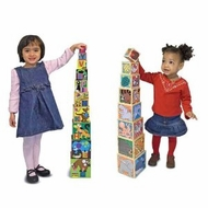 Melissa & Doug Alphabet and Animals Nesting and Stacking Block Sets - click to enlarge