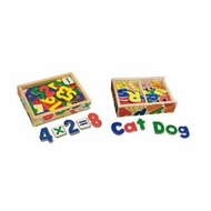 Melissa & Doug Deluxe Magnetic Letters & Numbers in a Box Bundle - click to enlarge