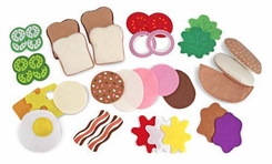 Melissa & Doug Felt Food - Sandwich Set - click to enlarge