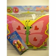 Melissa & Doug SUNNY PATCH Bella Butterfly Foam Hopscotch & Mollie Bollie Jumo Rope Set - click to enlarge