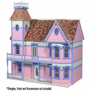 Melissa & Doug The House That Jack Built - Lady Anna Dollhouse Kit - click to enlarge