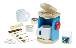 Melissa & Doug Wooden Brew & Serve Coffee Set - click to enlarge