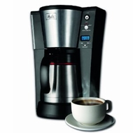 Melitta 10-Cup Thermal Coffee Brewer - click to enlarge