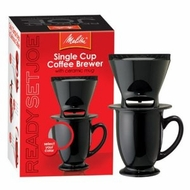 Melitta Ready Set Joe Mug 64010 Coffee Makers Speciality - click to enlarge