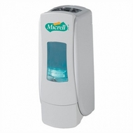 Micrell 8790-06 ADX-7 White Compact Dispenser, 700mL Capacity - click to enlarge