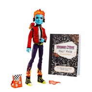 Monster High Holt Hyde with Pet chameleon Crossfade