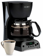 Mr. Coffee DRX5 4 Cup Programmable Coffee Maker - click to enlarge