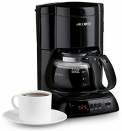 Mr. Coffee NLX5 4 Cup Programmable Coffee Maker - click to enlarge