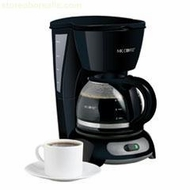 Mr. Coffee TF5 Pause 'N Serve 4 Cup Coffee Maker - click to enlarge