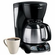 Mr. Coffee TFTX85 8 Cup Thermal Programmable Coffeemaker - click to enlarge