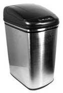 Nine Stars DZT-30-1 7.9 Gallon Stainless Steel Infrared Trash Can