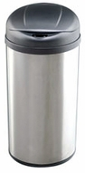 Nine Stars DZT-49-8 13 Gallon Stainless Steel Infrared Trashcan - click to enlarge
