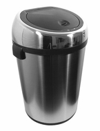 Nine Stars DZT-80-1 21.1 Gallon Stainless Steel Infrared Trashcan - click to enlarge