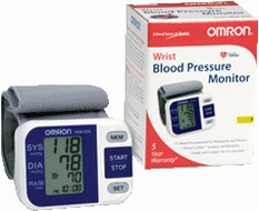 Omron HEM-629 Wrist Blood Pressure Monitor - click to enlarge