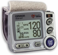 Omron HEM-670IT Wrist Blood Pressure Monitor - click to enlarge