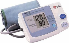 Omron HEM-711AC Automatic Blood Pressure Monitor - click to enlarge