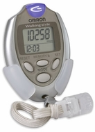Omron HJ-112 Digital Pedometer - click to enlarge