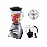 Oster 6878-042 Core 16-Speed Blender with Glass Jar, Black/SS - click to enlarge