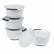 OXO 1064467 Good Grips 4 Piece Prep Bowl Set with Lids - click to enlarge