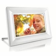 Philips 7 Inch Lcd Digital Photo Frame White