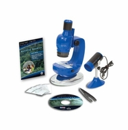Planet Toys Planet Earth Digital Microscope Kit - click to enlarge