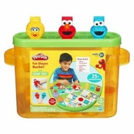 Play-Doh Sesame Street Fun Shapes Bucket - click to enlarge
