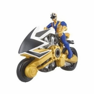 Power Ranger Samurai Red Cycle with Action Figure - click to enlarge