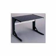 Premier 24 Inch Black Microwave Shelf - click to enlarge