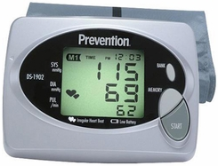 Prevention DS1902PV Automatic Blood Pressure Monitor - click to enlarge
