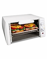 Proctor Silex 31115/31114/31116 4-Slice Toaster Oven/Broiler, White - click to enlarge