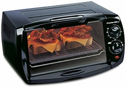 Proctor Silex 31147 Toaster Oven, Broiler, 4 Slice - click to enlarge