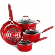 Proctor Silex 92327 8 Piece Signature Red Cookware - click to enlarge