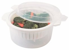 Progressive International Microwavable Mini Steamer - click to enlarge