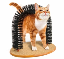 Purrfect Arch Self Groomer - click to enlarge