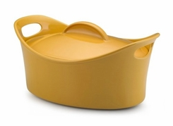 Rachael Ray Stoneware Bubble and Brown Casserole Dish - click to enlarge